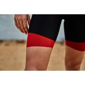 Zone3 Aquaflo Plus Strój triathlonowy Mężczyźni, black/grey/red